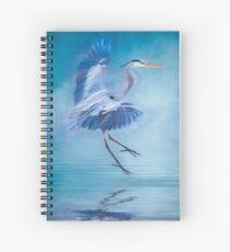 Misty Blue Spiral Notebook