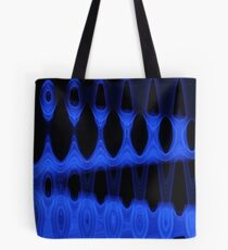 Blue Black Digital Design 7 Tote Bag