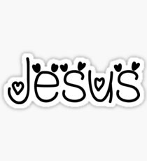 Hey Jesus this is perfect for you Sticker