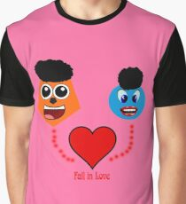Fall in Love Graphic T-Shirt