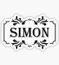 Frame Name Simon Sticker