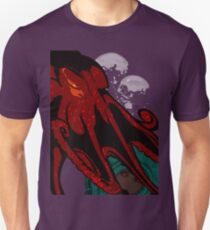 octopus and girl Bubbles  Unisex T-Shirt