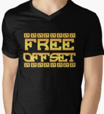 FREE OFFSET Menu0027s V-Neck T-Shirt