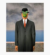 the son of the reborn man Magritte Photographic Print
