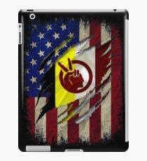American Indian Flag Native American Indian Roots Heritage iPad Case/Skin