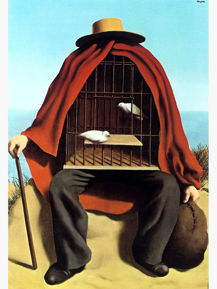 The therapeutist Rene, Magritte by arthistory