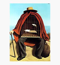 The therapeutist Rene, Magritte Photographic Print