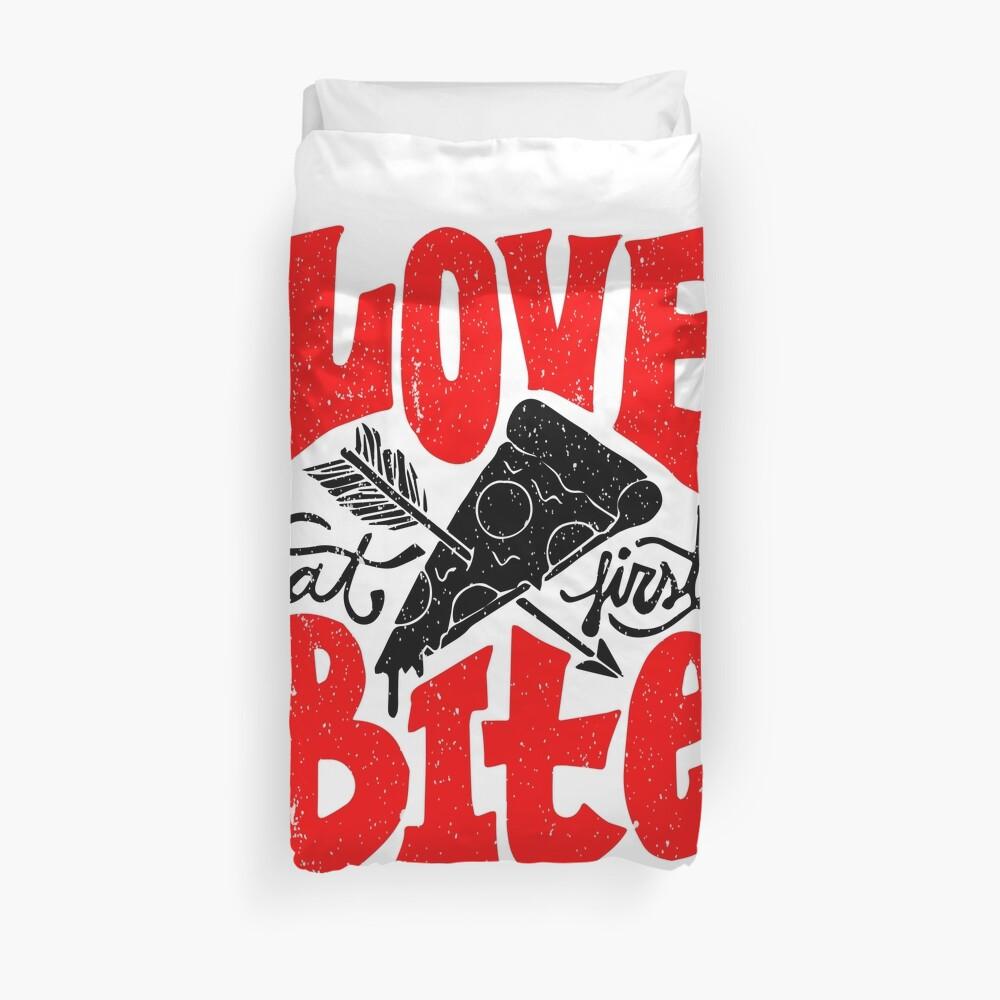 Love at First Bite Bettbezug