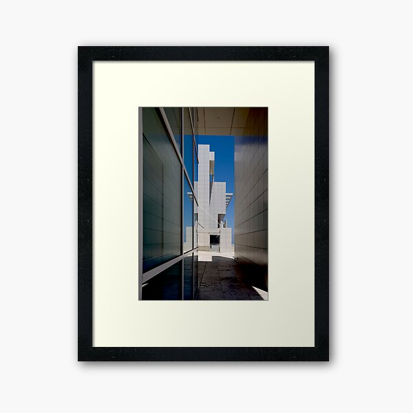 Playing With Blocks Framed Art Print