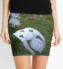 Alice and the Croquet Game Mini Skirt