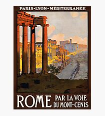 Vintage poster - Rome Photographic Print