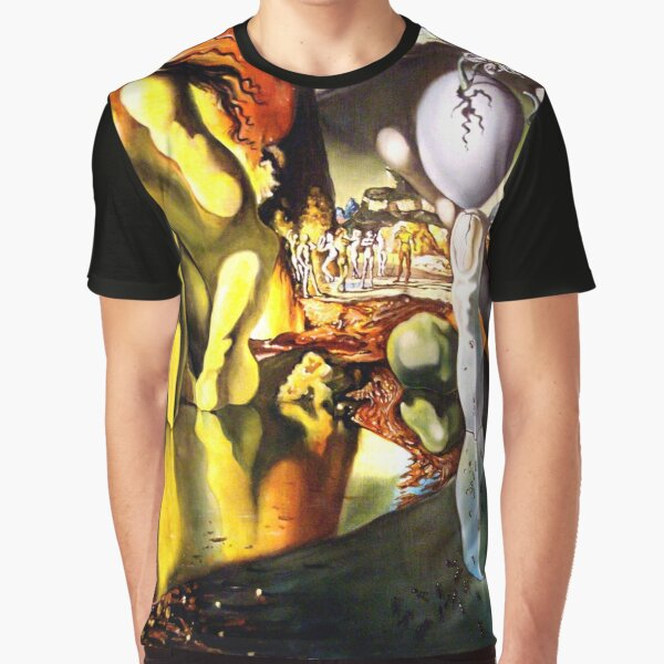 Metamorphosis of Narcissus Salvador Dali Graphic T-Shirt