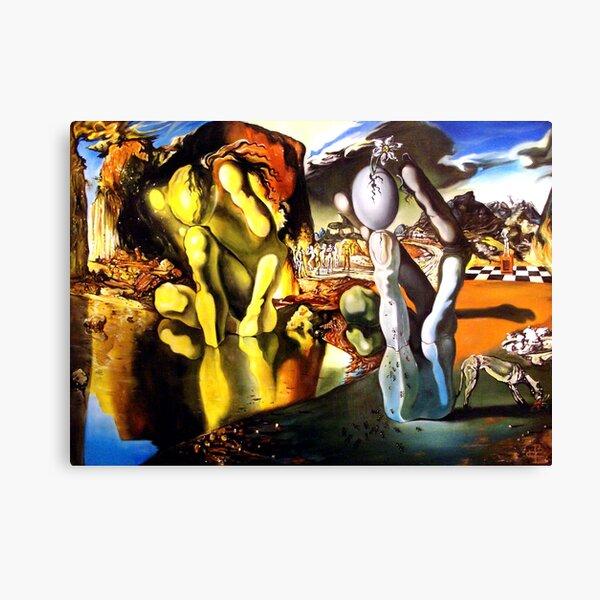 Metamorfosis de Narciso Salvador Dali Lienzo