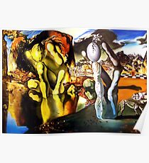 Metamorphosis of Narcissus Salvador Dali Poster