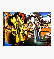Metamorphosis of Narcissus Salvador Dali Photographic Print
