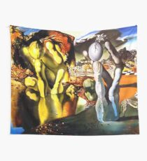 Metamorphosis of Narcissus Salvador Dali Wall Tapestry