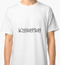 Hey Katherine this is perfect for you Classic T-Shirt