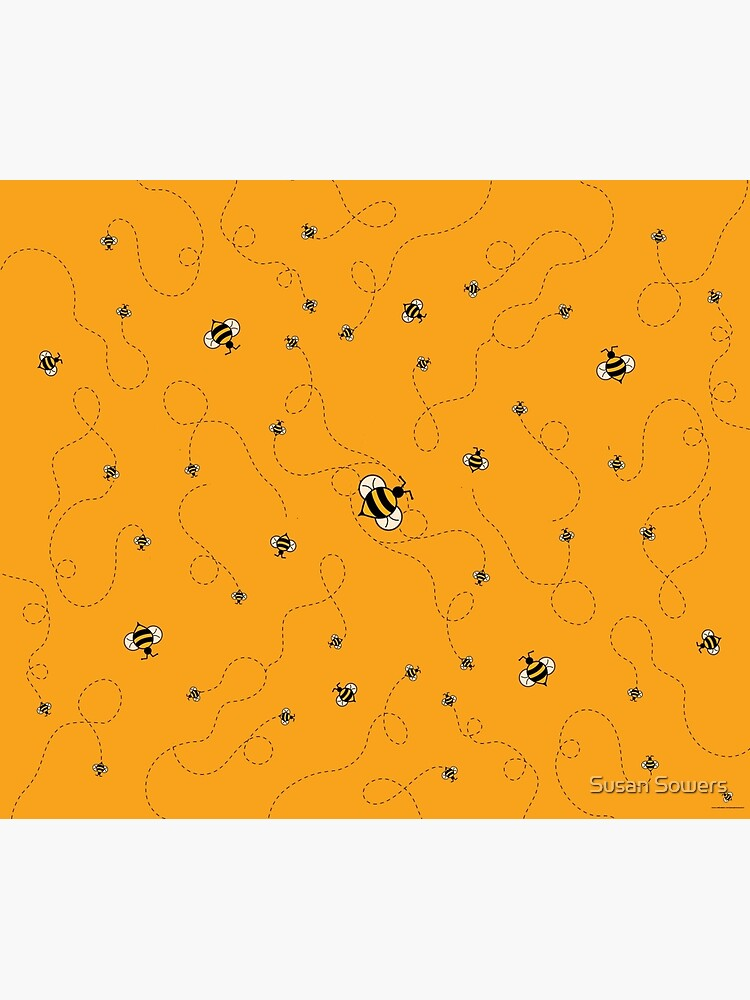 Busy as a Bee w/BG by SSSowers