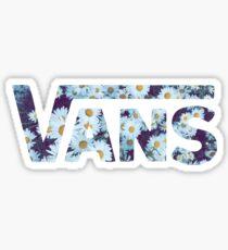 vans daisies Sticker