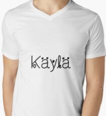 Hey Kayla this is perfect for you Men's V-Neck T-Shirt