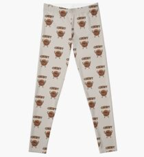 Chewy Chocolate Cookie Wookiee Leggings