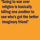 War & Religion by Alexandra Felgate