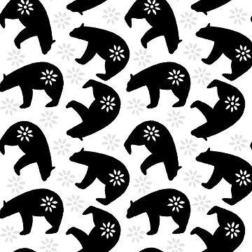Bears in black by ClaraFae