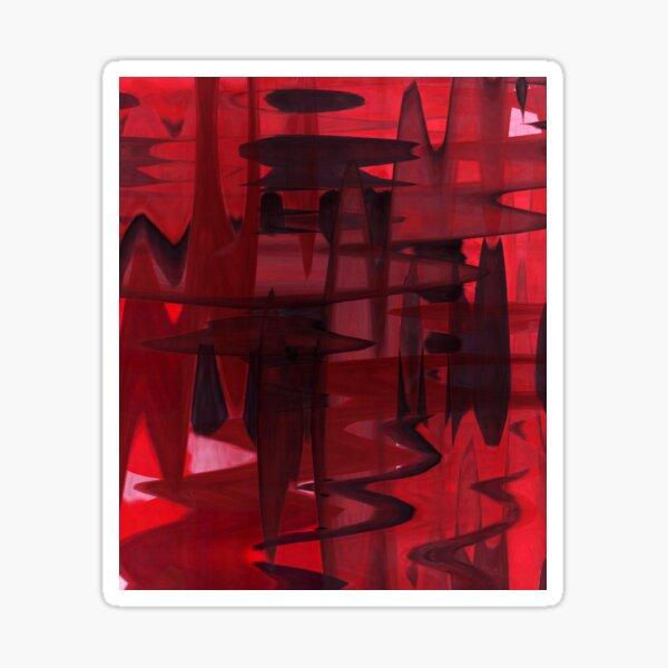 I'm always red Sticker