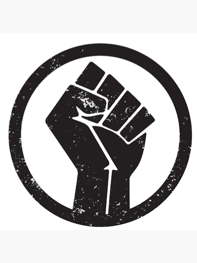 "Black Lives Matter Fist Logo "" Tote Bag by TheProgressive 