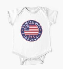 Fort Collins Short Sleeve Baby One-Piece