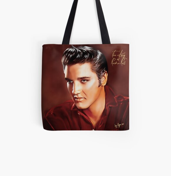 CHUCK BERRY ROCK AND ROLL COOL SHOPPING CANVAS TOTE BAG IDEAL GIFT PRESENT