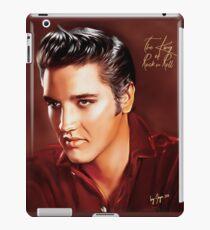 Elvis Presley Illustration Die größten Erfolge aller Zeiten. iPad-Hülle & Klebefolie