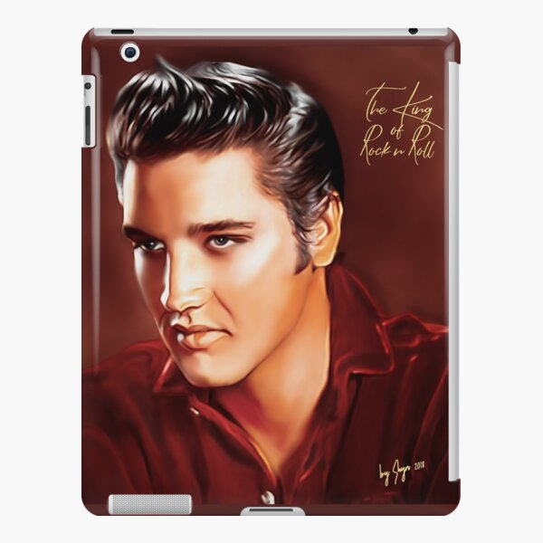 Elvis Presley Illustration The all time greatest hits. iPad Snap Case