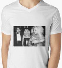 Divine meets Trump Men's V-Neck T-Shirt