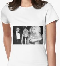 Divine meets Trump Women's Fitted T-Shirt