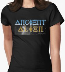 Ancient Alien Women's Fitted T-Shirt