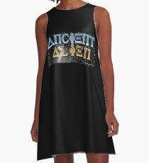 Ancient Alien A-Line Dress