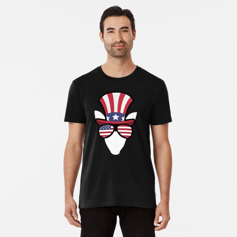 Elk Happy 4th Of July Camiseta premium