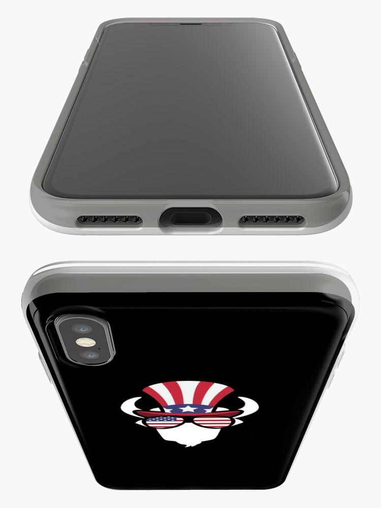 Vista alternativa de Funda y vinilo para iPhone Buffalo Happy 4th Of July