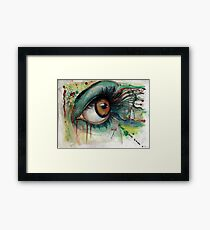 Blink of eyes - 2 Framed Print
