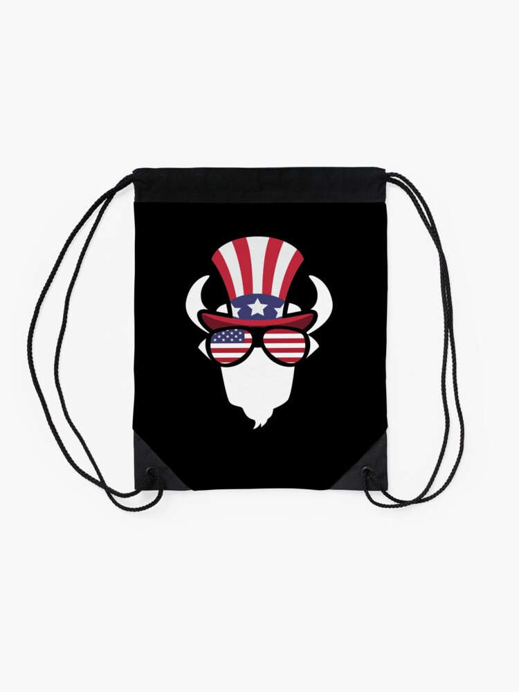 Vista alternativa de Mochila saco Buffalo Happy 4th Of July
