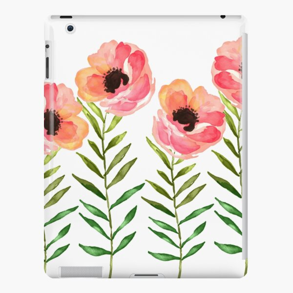Watercolor Flower iPad Snap Case