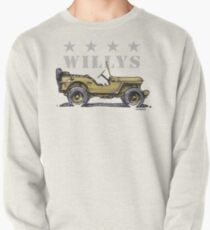 4 Star Willys - WW2  Pullover