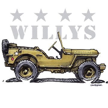 4 Star Willys - WW2  by robert1117