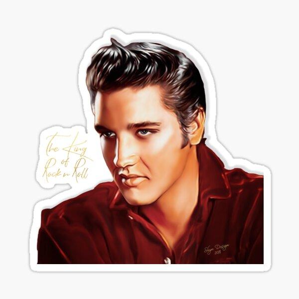 The King of Rock n Roll Sticker
