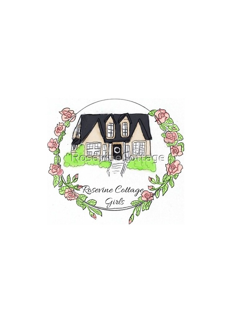 Rosevine Cottage Girls Logo Items by RosevineCottage