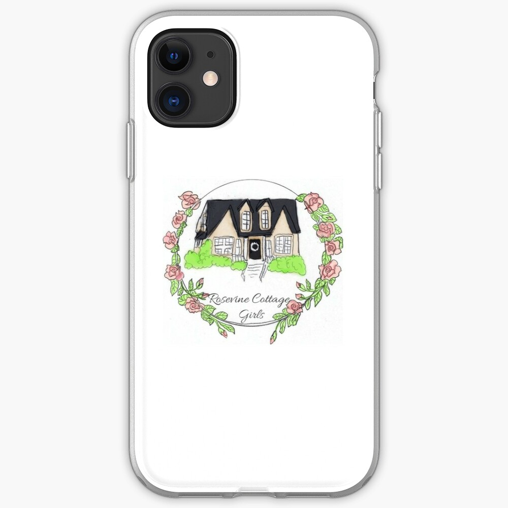 Rosevine Cottage Girls Logo Items iPhone Case & Cover
