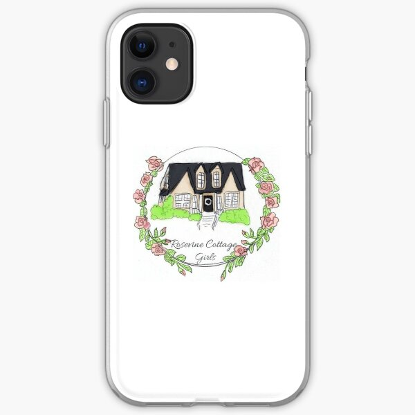 Rosevine Cottage Girls Logo Items iPhone Soft Case