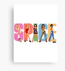 Spice Girls Merch Canvas Print
