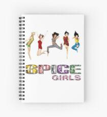 Cuaderno de espiral Spice Girls merch